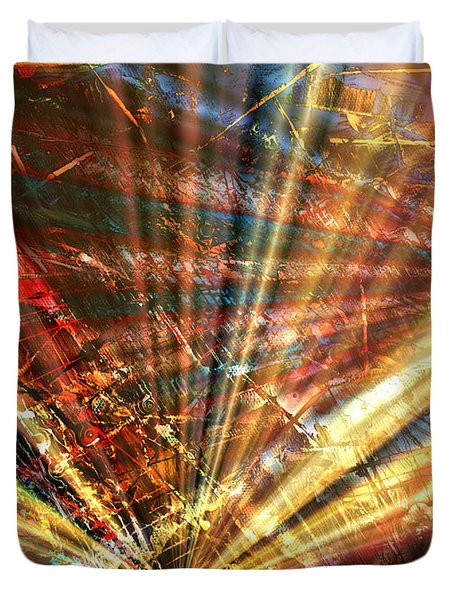Sound Of Light Duvet Cover
