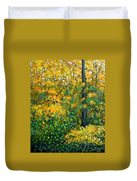 Southern Woods Duvet Cover by Jeanette Jarmon