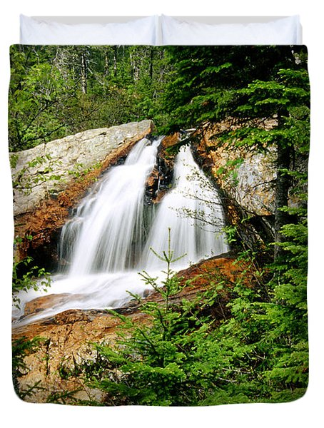 Southwest Brook Falls, Gros Morne Duvet Cover