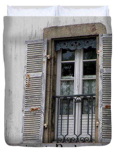 Duvet Cover featuring the photograph Souvenirs De Bretagne by Lainie Wrightson