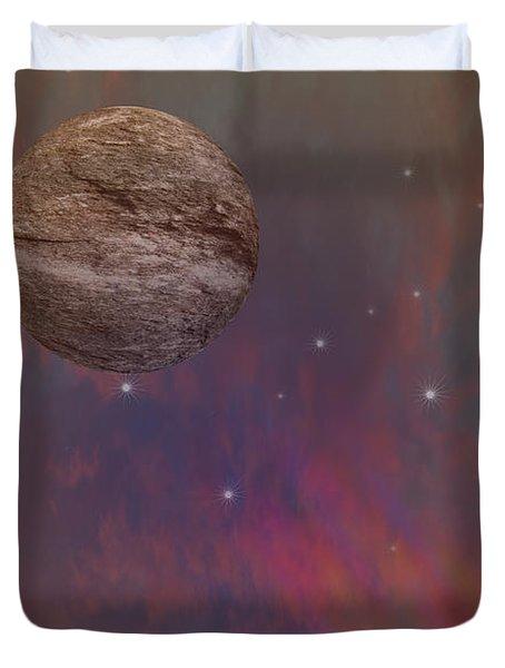 Space Duvet Cover by Brian Roscorla