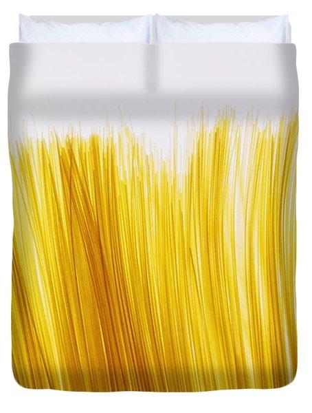 Spaghetti Duvet Cover by David Chapman