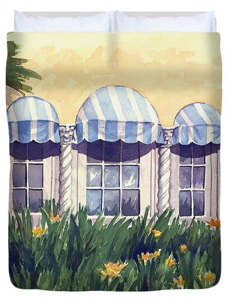 Spanish Windows Duvet Cover