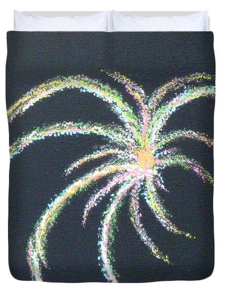 Sparkler Duvet Cover by Alys Caviness-Gober