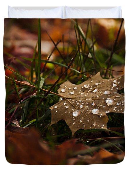 Sparkling Gems Duvet Cover by Cheryl Baxter