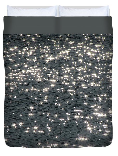 Shining Water Duvet Cover by Maciek Froncisz