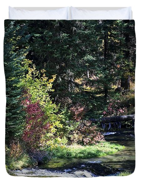 Spearfish Canyon Duvet Cover