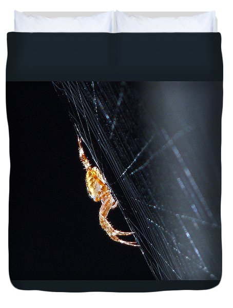 Spider Solitaire Duvet Cover by Chris Anderson