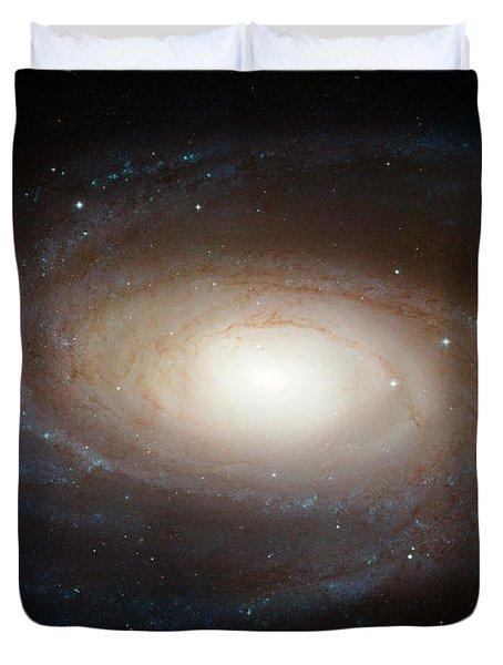 Spiral Galaxy M81 Duvet Cover by Nasa