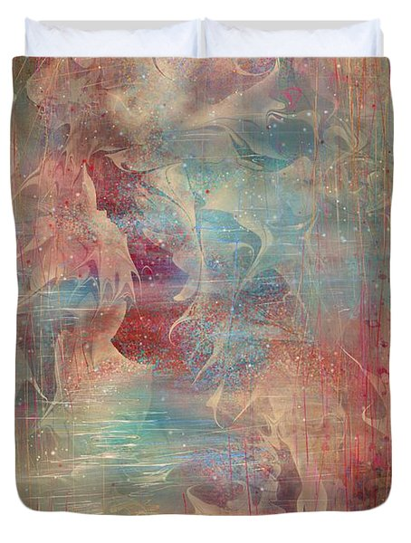 Spirit Of The Waters Duvet Cover by Rachel Christine Nowicki
