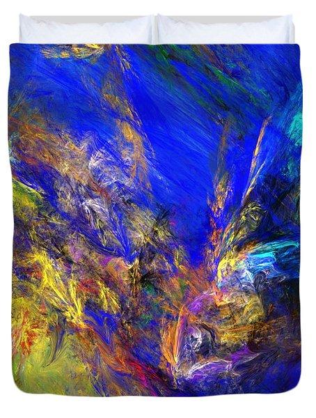 Spirits Over Bay Duvet Cover by David Lane