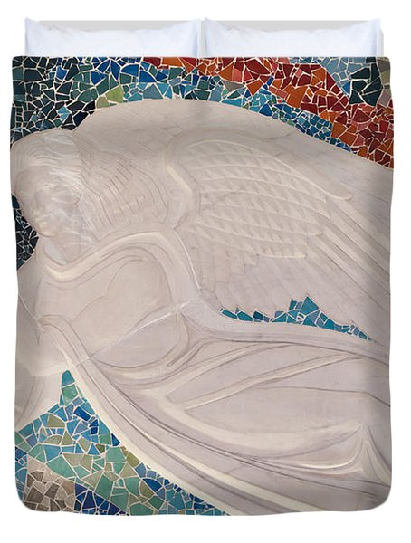 Spiritual Guidance Duvet Cover by Colleen Coccia