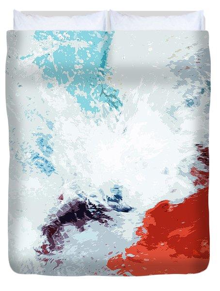 Splash Duvet Cover by Glennis Siverson