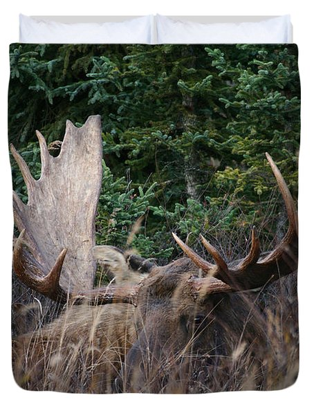Duvet Cover featuring the photograph Splendor In The Grass by Doug Lloyd