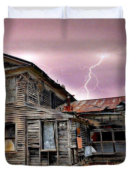 Spooky Duvet Cover by Marty Koch