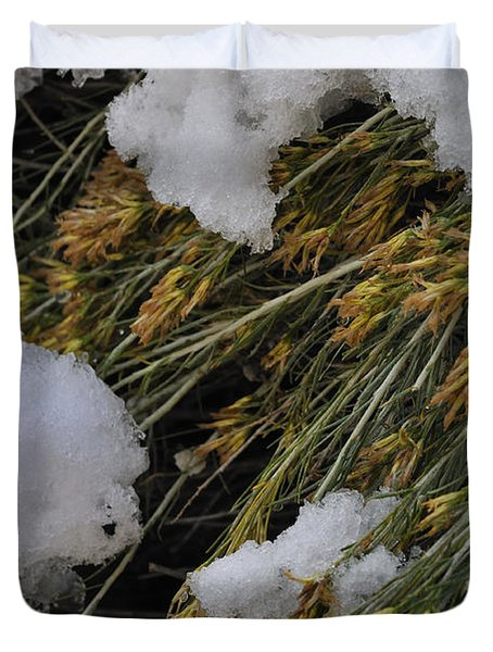 Duvet Cover featuring the photograph Spring Arrives by Ron Cline