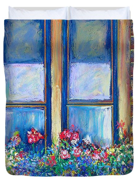 Spring Duvet Cover by Li Newton