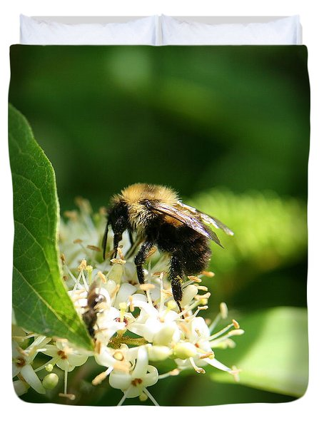 Spring Pollination Duvet Cover by Neal Eslinger