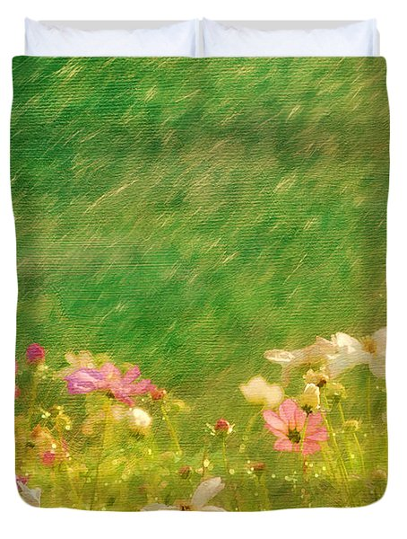 Spring Rain Duvet Cover by Darren Fisher
