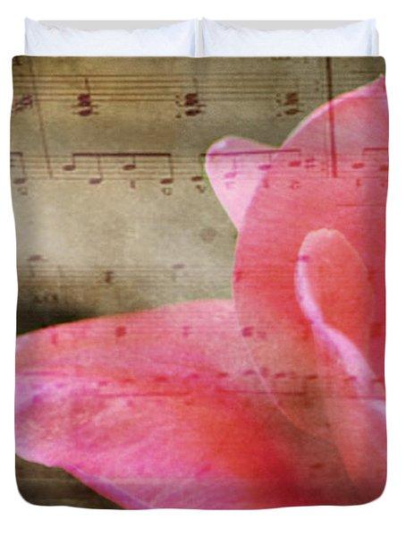 Spring Sings Duvet Cover