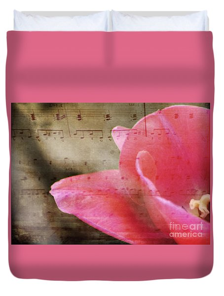 Duvet Cover featuring the photograph Spring Sings by Traci Cottingham