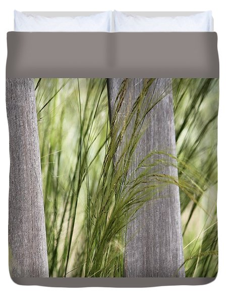 Spring Time In The Meadow Duvet Cover by Amy Gallagher