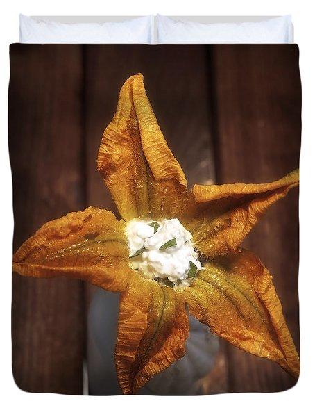 Squash Blossom Duvet Cover