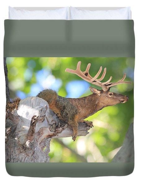 Squirrelk Duvet Cover