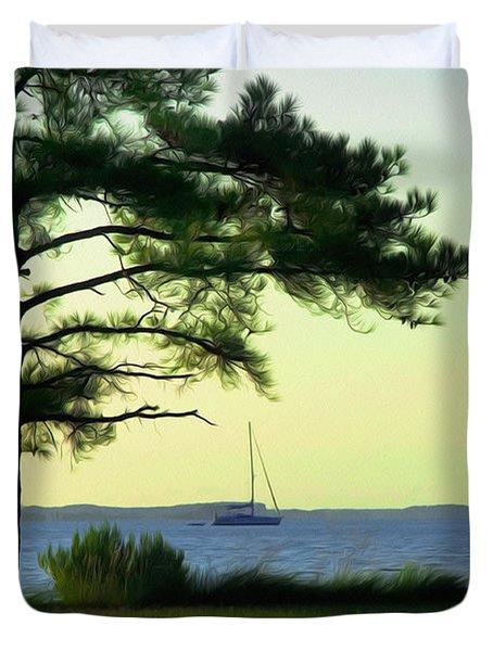St. George's Island Duvet Cover
