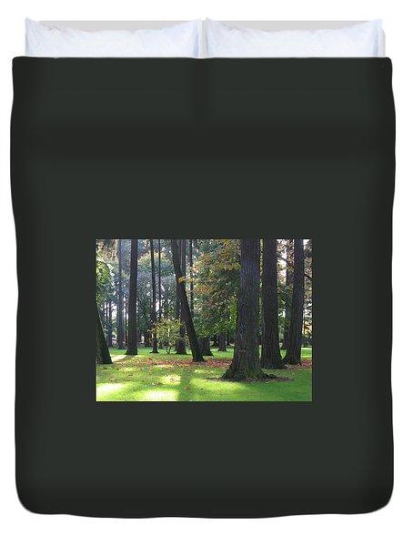 St. John's Trees Duvet Cover