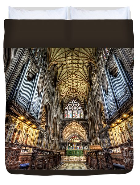 St Mary Duvet Cover by Adrian Evans