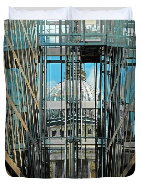 St Pauls Compressed Duvet Cover