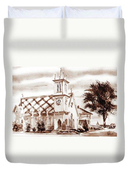 St. Pauls Episcopal Church IIi Duvet Cover by Kip DeVore