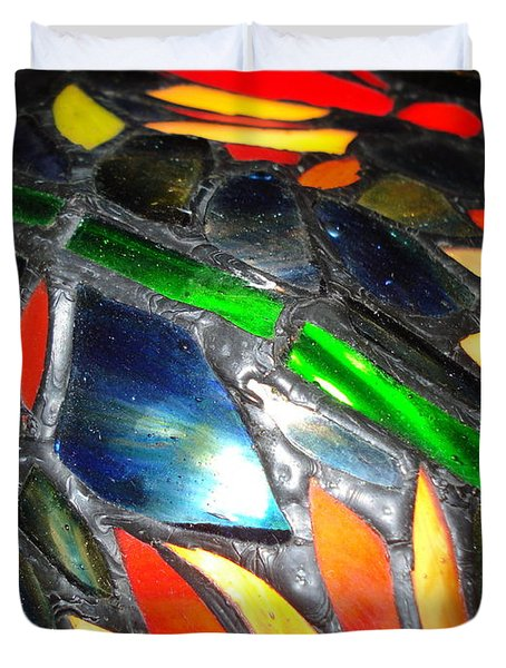 Stained Glass Three Duvet Cover