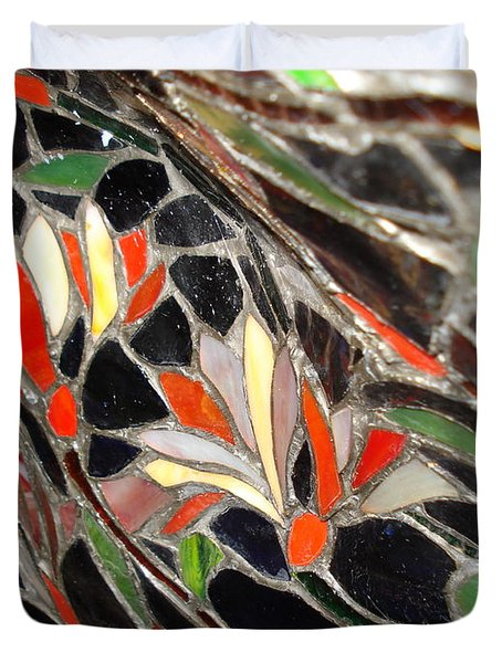 Stained Glass Two Duvet Cover