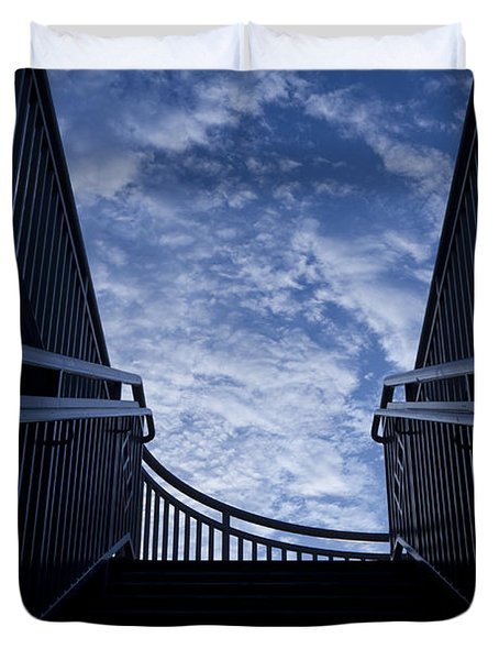 Stairway To Heaven Duvet Cover by Joel Witmeyer