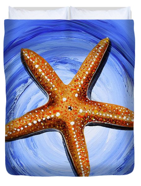 Star Of Mary Duvet Cover by J Vincent Scarpace