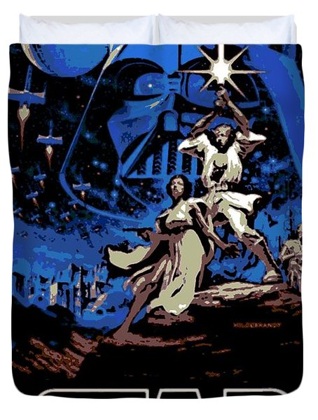 Star Wars Poster Duvet Cover