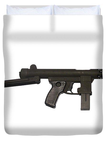 Star Z70b 9mm Submachine Gun Duvet Cover by Andrew Chittock