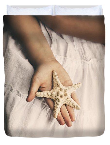 Starfish Duvet Cover by Joana Kruse