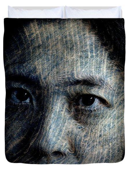 Starlight Gaze Duvet Cover by Christopher Gaston