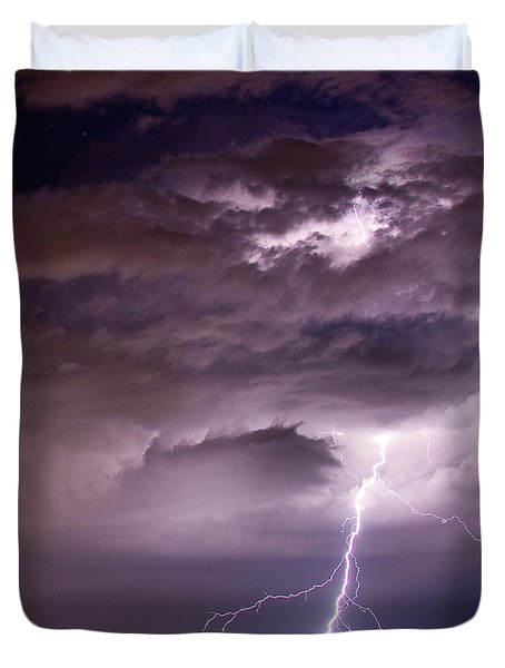 Starting High Duvet Cover by James BO  Insogna