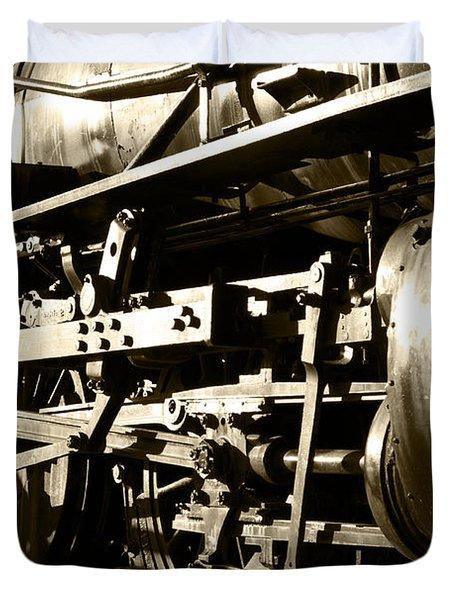 Steam Power II Duvet Cover by Ricky Barnard