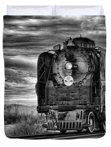 Steam Train No 844 - Iv Duvet Cover