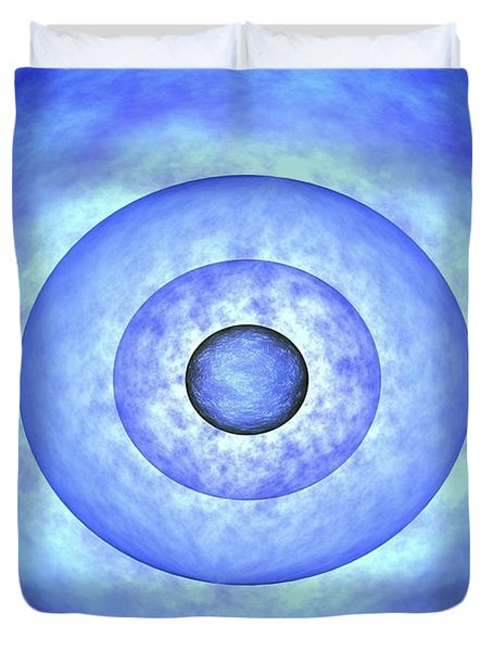 Stellar Core Before Grb Event, Computer Duvet Cover by NASA / Science Source