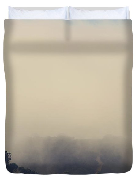 Still Hanging On Duvet Cover by Laurie Search