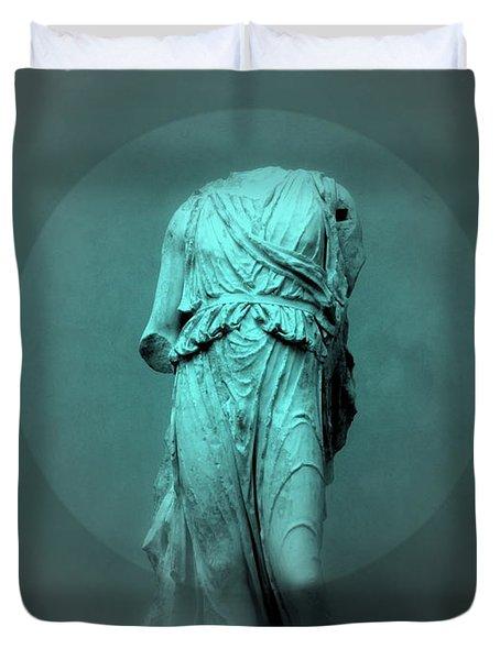 Still Life - Robed Figure Duvet Cover