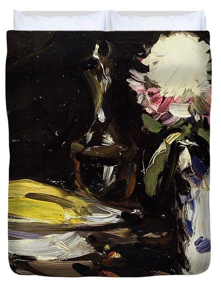 Still Life Duvet Cover by Samuel John Peploe