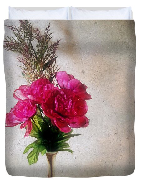 Still Life With Texture Duvet Cover by Judi Bagwell