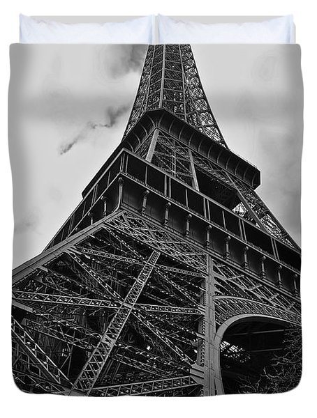 Duvet Cover featuring the photograph Still Standing by Eric Tressler